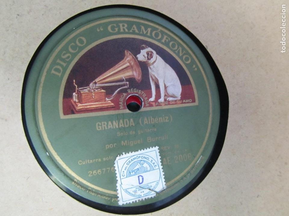 Discos de pizarra: Álbum de discos de pizarra La voz de su amo, 12 discos de 25 cm de diámetro, títulos en fotografías - Foto 25 - 213490297
