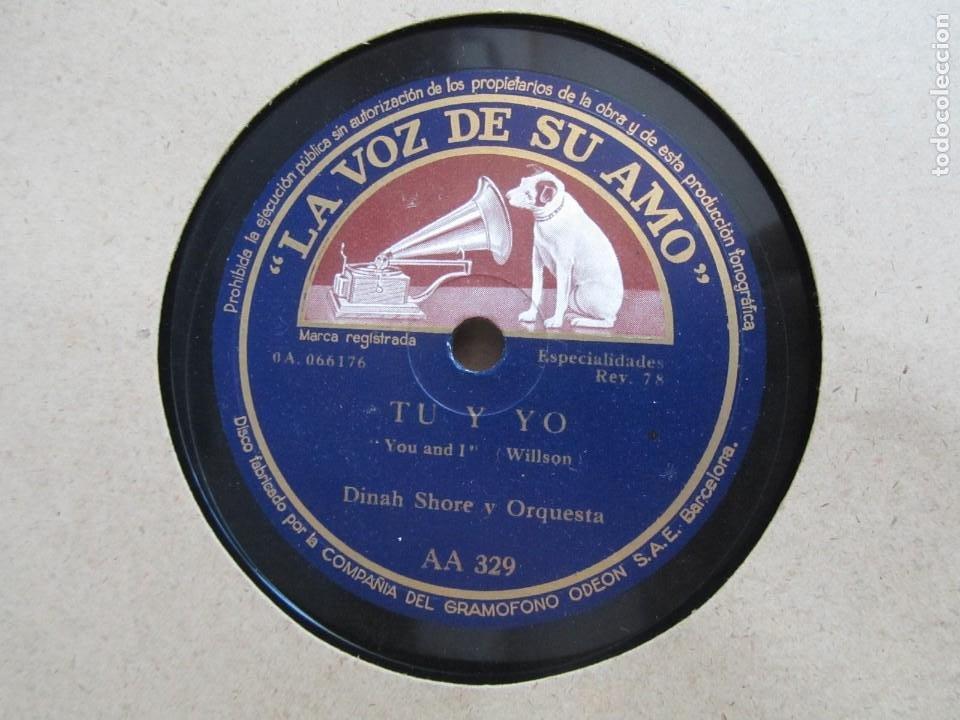 Discos de pizarra: Álbum de discos de pizarra La voz de su amo, 12 discos de 25 cm de diámetro, títulos en fotografías - Foto 26 - 213490297