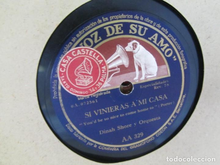 Discos de pizarra: Álbum de discos de pizarra La voz de su amo, 12 discos de 25 cm de diámetro, títulos en fotografías - Foto 27 - 213490297