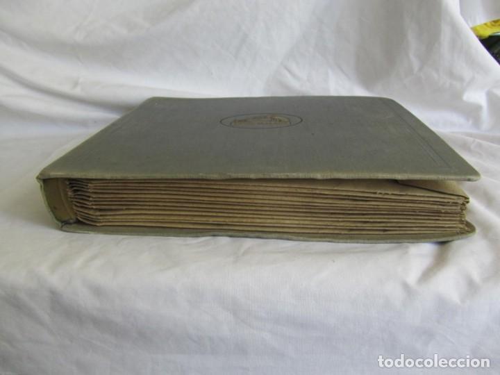 Discos de pizarra: Álbum de discos de pizarra La voz de su amo, 12 discos de 25 cm de diámetro, títulos en fotografías - Foto 28 - 213490297
