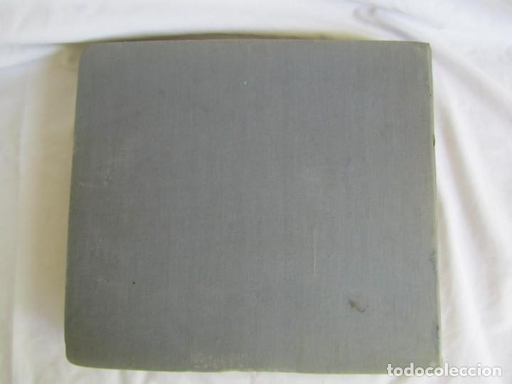 Discos de pizarra: Álbum de discos de pizarra La voz de su amo, 12 discos de 25 cm de diámetro, títulos en fotografías - Foto 29 - 213490297