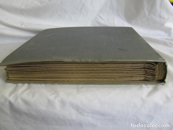 Discos de pizarra: Álbum de discos de pizarra La voz de su amo, 12 discos de 25 cm de diámetro, títulos en fotografías - Foto 30 - 213490297