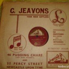 Discos de pizarra: EARTHA KITT. LOVIN´SPREE / UNDER THE BRIDGES OF PARIS. HIS MASTER´S . EDC. UK. PIZARRA.10 PULGA (#). Lote 213566587