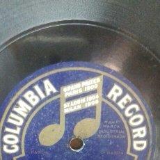 Discos de pizarra: COLUMBIA. C2578. LA ZANACUECA. AMANECIENDO. Lote 213952663