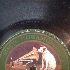 Discos de pizarra: GEAMOFONO. EL PASE TRAGICO. ALMA ESPAÑOLA. Lote 213978648