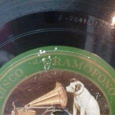 Discos de pizarra: GRAMOFONO. HOPA HOPA. RECUERDO. Lote 213979037