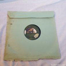 Discos de pizarra: DISCO GRAMOFONO LA VOZ DE SU AMO. Lote 214407877