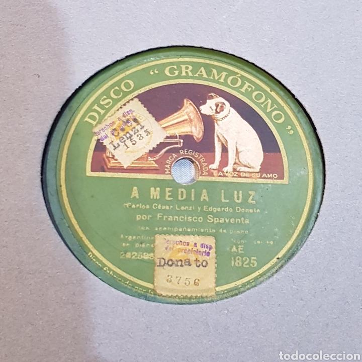 Discos de pizarra: DISCO GRAMOFONO LA VOZ DE SU AMO A MEDIA LUZ - Foto 2 - 214408586