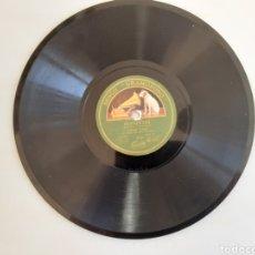Discos de pizarra: MANUEL VALLEJO FANDANGOS TARANTAS DISCO GRAMOFONO. Lote 214609446