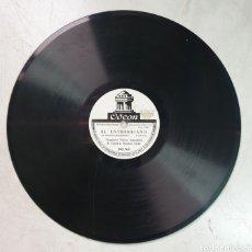 Discos de pizarra: DISCO DE PIZARRA TANGO. Lote 214740595