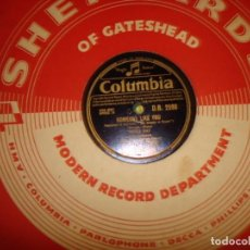 Discos de pizarra: DORIS DAY. SOMEONE LIKE YOU / MY DREAM IS YOURS. COLUMBIA, 1949. PIZARRA. EDC. UK (#). Lote 214745761