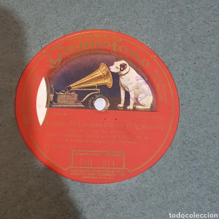 Discos de pizarra: DISCO GRAMOFONO LA VOZ DE SU AMO - Foto 4 - 214972542