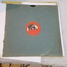 Discos de pizarra: DISCO GRAMOFONO LA VOZ DE SU AMO. Lote 214972542