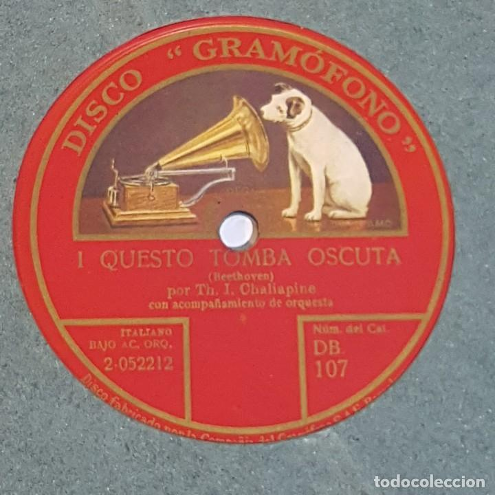 Discos de pizarra: DISCO GRAMOFONO LA VOZ DE SU AMO - Foto 2 - 214973373