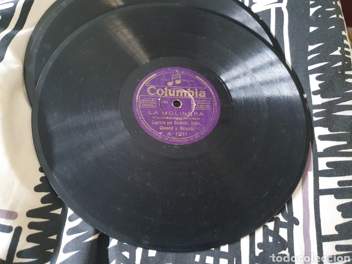 Discos de pizarra: Canción Asturiana - Foto 3 - 215157086