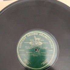 Discos de pizarra: DISCO DE PIZARRA DE 78RPM. MAZURKA-LA CERVERENSE/BIENVENIDA. Lote 215160000
