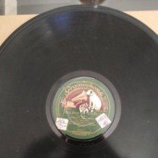 Discos de pizarra: DISCO DE PIZARRA DE 78RPM. CRESPO Y GONZALEZ/MOLINOS DE VIENTO DISCO 30CM. Lote 215161462