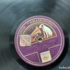 Discos de pizarra: DISCO PIZARRA, EMILIO SAGI-BARBA, PADRE NUESTRO, NUBE DE HUMO. Lote 215516473