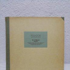Discos de pizarra: POLYDOR MEISTERKLADDE. W. A. MOZART. REQUIEM. INCLUYE 8 DISCOS.. Lote 216479596