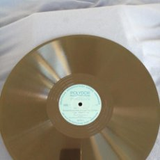Discos de pizarra: JOH. SEB. BACH : BRANDENBURGISCHES KONZERT NR. 5, D-DUR 1 Y 2. POLYDOR MEISTERKLASSE.. Lote 217004182