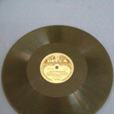 Discos de pizarra: DER MUNSENSOHN/AN DIR MUSIK. DECCA.. Lote 217128516