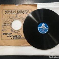 Discos de pizarra: CAVALLERIA RUSTICANA - MASCAGNI. ODEON. Lote 217270043