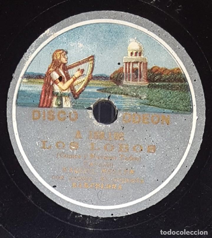 Discos de pizarra: DISCO 78 RPM - ODEON - RAQUEL MELLER - INDOSTAN - LOS LOBOS - CANCION - PIZARRA - Foto 2 - 217893691