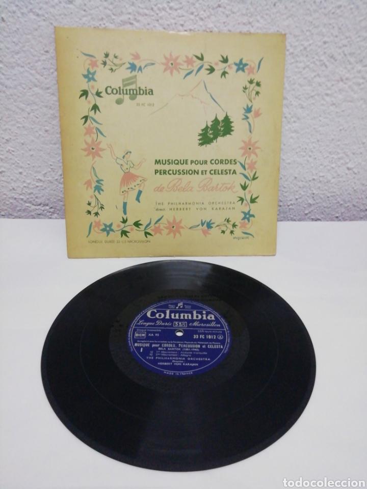 MUSIQUE POUR CORDES, PERCUSSION ET CELESTA DE BELA BARTOK. COLUMBIA (Música - Discos - Pizarra - Clásica, Ópera, Zarzuela y Marchas)
