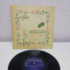 Discos de pizarra: MUSIQUE POUR CORDES, PERCUSSION ET CELESTA DE BELA BARTOK. COLUMBIA. Lote 217911766