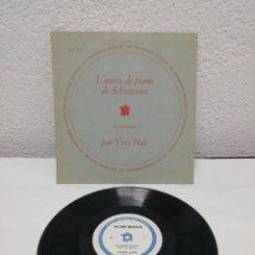 Discos de pizarra: L' OUVRE DE PIANO DE SCHUMANN. KREISLERIANA PAR YVRS NAT. Lote 217913588