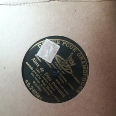 Discos de pizarra: ALMA DE DIOS (SERRANO) SERGI-BARBA. Lote 218037198