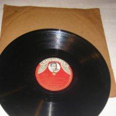 Discos de pizarra: DISCO DE PIZARRA COLUMBIA, DE JORGE CARDOSO, SUEÑO DE AMOR Y HAY QUE BAILAR SAMBA, 25 CM.. Lote 218054753