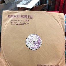 Discos de pizarra: DISCO PIZARRA - ANTONIO VIVALDI JOHANN SEBASTIAN BACH. Lote 218713193