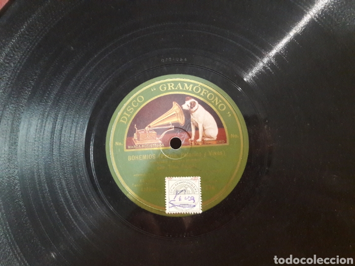 Discos de pizarra: discos gramofono 2 estuches - Foto 2 - 218845982