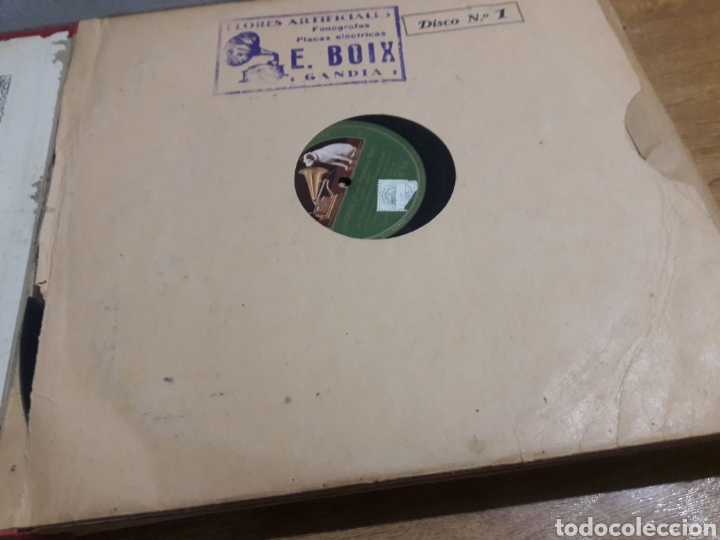 Discos de pizarra: discos gramofono 2 estuches - Foto 5 - 218845982