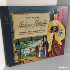 Discos de pizarra: RCA VICTOR RED SEAL RECORDS. HIGHLIGHTS FROM PUCCINI´S. MADAME BUTTERFLY. FRIEDER WEISSMANN.. Lote 219278141