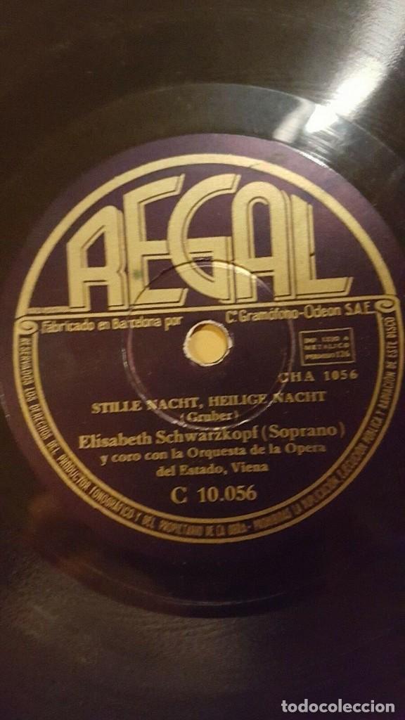 Discos de pizarra: DISCO 78 RPM - REGAL - ELISABETH SCHWARZKOPF - CORO - O TANNENBAUM - POPULAR - ALEMAN - PIZARRA - Foto 2 - 219468848