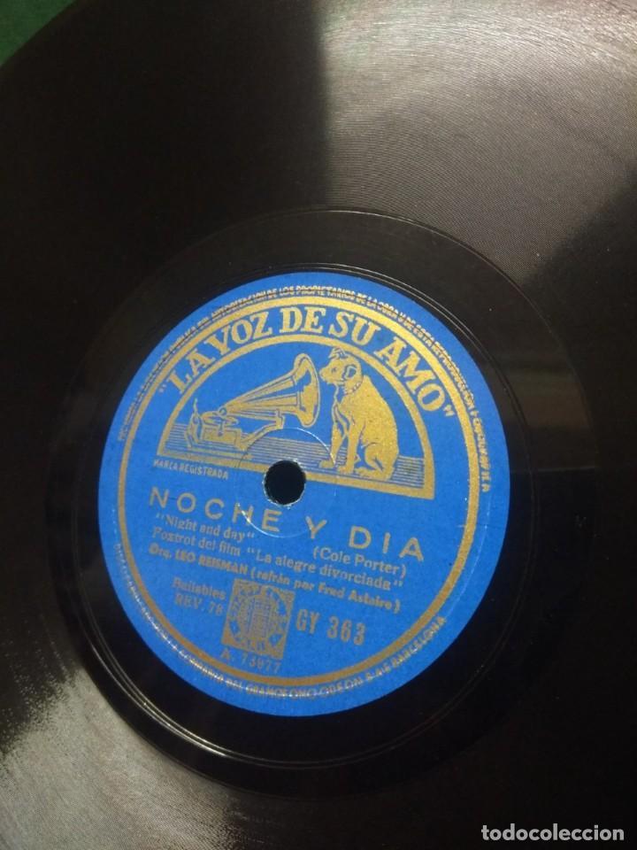 ORQUESTA LEO REISMAN CON FRED ASTAIRE : NOCHE Y DIA ( COLE PORTER) + FATS WALLER : NO TE PREOCUPES (Música - Discos - Pizarra - Bandas Sonoras y Actores )