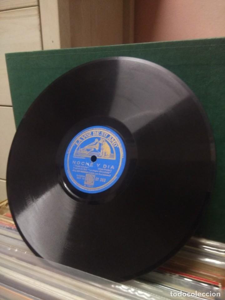Discos de pizarra: ORQUESTA LEO REISMAN CON FRED ASTAIRE : NOCHE Y DIA ( COLE PORTER) + FATS WALLER : NO TE PREOCUPES - Foto 4 - 53820869