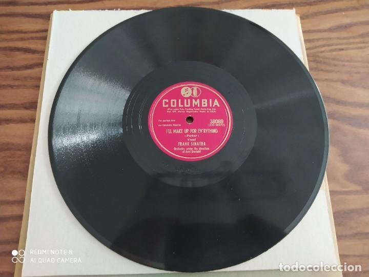 Discos de pizarra: FRANK SINATRA, ill make Up for everything, for every man theres a woman, disco de pizarra 78 rpm - Foto 3 - 220107732