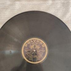 Discos de pizarra: ELECTRICAL RECORDING VARIAZIONI SOBRE UN TEMA . LES HUGONOTES. Lote 220186220