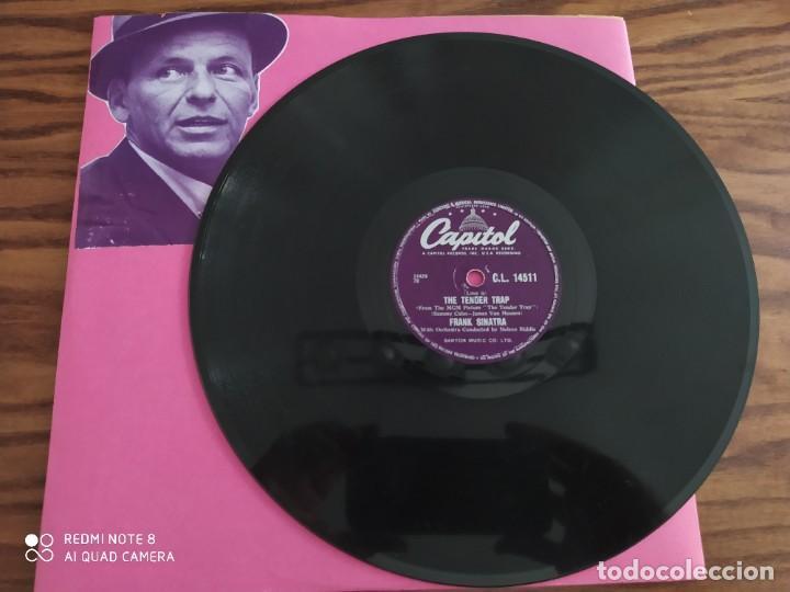 FRANK SINATRA, WEEP THEY WILL, THE TENDER TRAP , DISCO DE PIZARRA 78 RPM (Música - Discos - Pizarra - Jazz, Blues, R&B, Soul y Gospel)