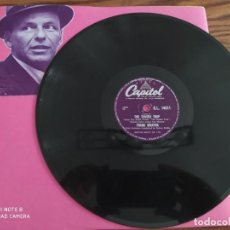 Discos de pizarra: FRANK SINATRA, WEEP THEY WILL, THE TENDER TRAP , DISCO DE PIZARRA 78 RPM. Lote 220195037