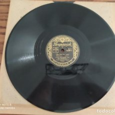 Discos de pizarra: LUCKY MILLINDER AND HIS ORCHESTRA, BIG FAT MAMA, TROUBLE IN MIND, DISCO DE PIZARRA 78 RPM. Lote 220229783