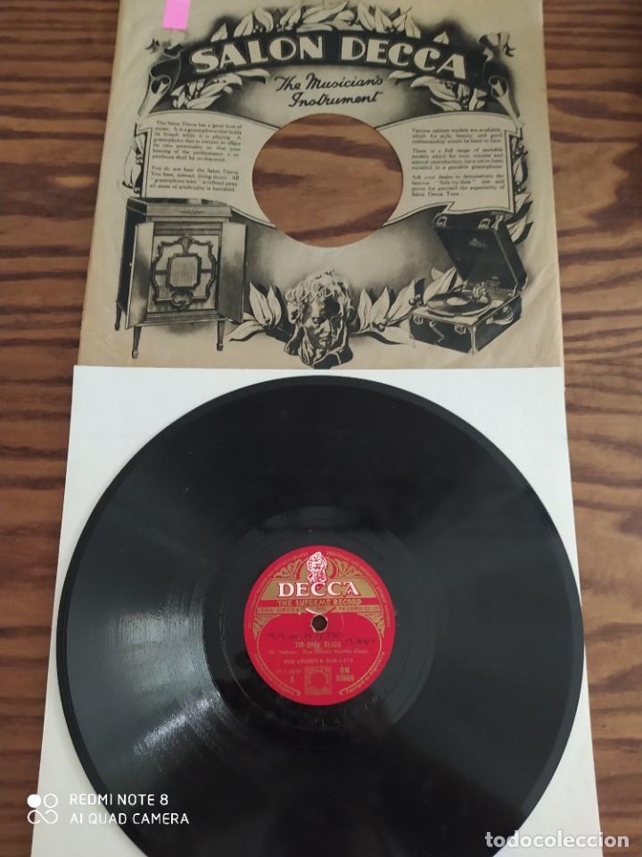 BOB CROSBY'S BOB CATS, TIN ROOF BLUES, WAY DOWN WONDER IN NEW ORLEANS, DISCO DE PIZARRA 78 RPM (Música - Discos - Pizarra - Jazz, Blues, R&B, Soul y Gospel)