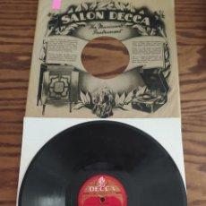 Discos de pizarra: BOB CROSBY'S BOB CATS, TIN ROOF BLUES, WAY DOWN WONDER IN NEW ORLEANS, DISCO DE PIZARRA 78 RPM. Lote 220252946