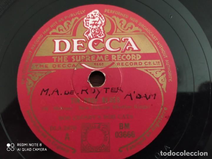 Discos de pizarra: Bob crosbys Bob Cats, tin roof blues, way down wonder in new orleans, disco de pizarra 78 rpm - Foto 2 - 220252946
