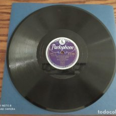 Discos de pizarra: LOUIS ARMSTRONG, ALLIGATOR BLUES, POTATO HEAD BLUES, DISCO DE PIZARRA 78 RPM. Lote 220253726