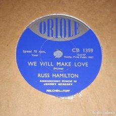 Discos de pizarra: DISCO DE PIZARRA RUSS HAMILTON ORIOLE. Lote 220554771