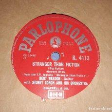 Discos de pizarra: DISCO DE PIZARRA SIDNEY TORCH AND HIS ORCHESTA PARLOPHONE. Lote 220555178